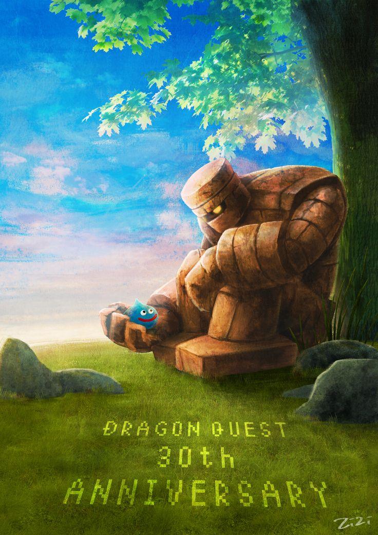 Dragon Quest 30th Anniversary Fan Art