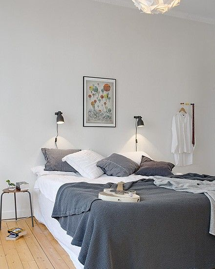 56 best images about chambres inspiration on pinterest - Chambre scandinave deco ...