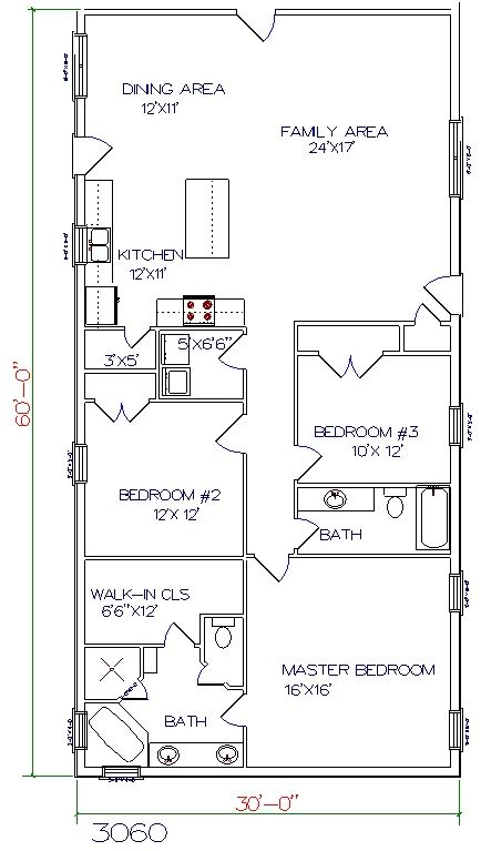 Barndominium floor plans 30x50 joy studio design gallery 30x50 house plans