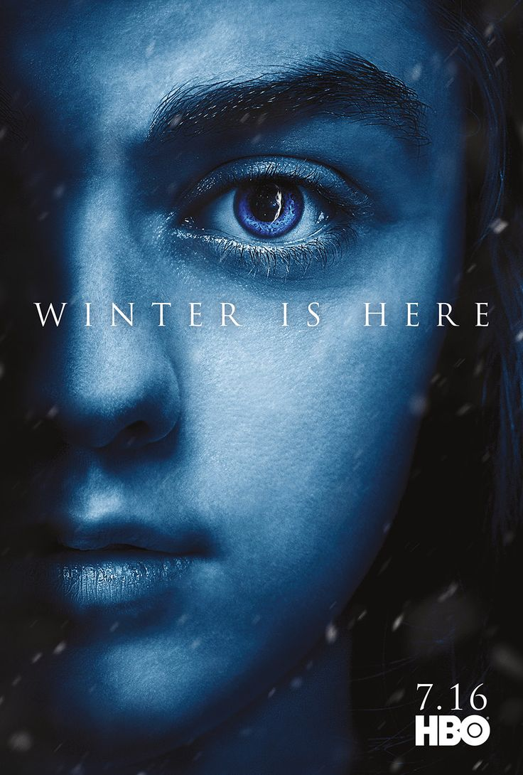 Character Posters for Game of Thrones Season 7 Revealed – Winter is Here!: ARYA