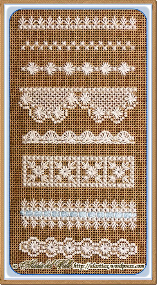 Hapsburg Lace Sampler--am making this now.  Beautiful.