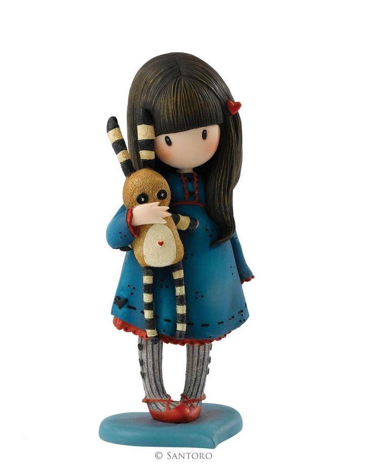 "Hush Little Bunny, Gorjuss 6"" Figurine"