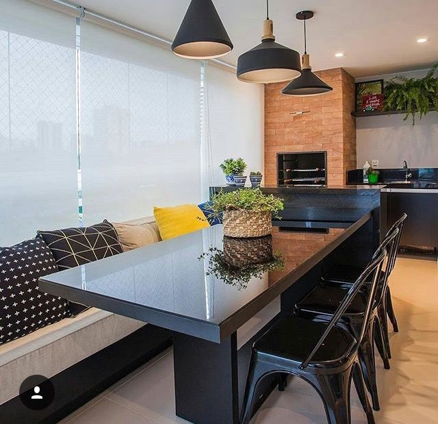 1346 Best Images About Gourmet Kitchens On Pinterest: 144 Best Images About ArqInt_Sala De Jantar Com Banco Fixo