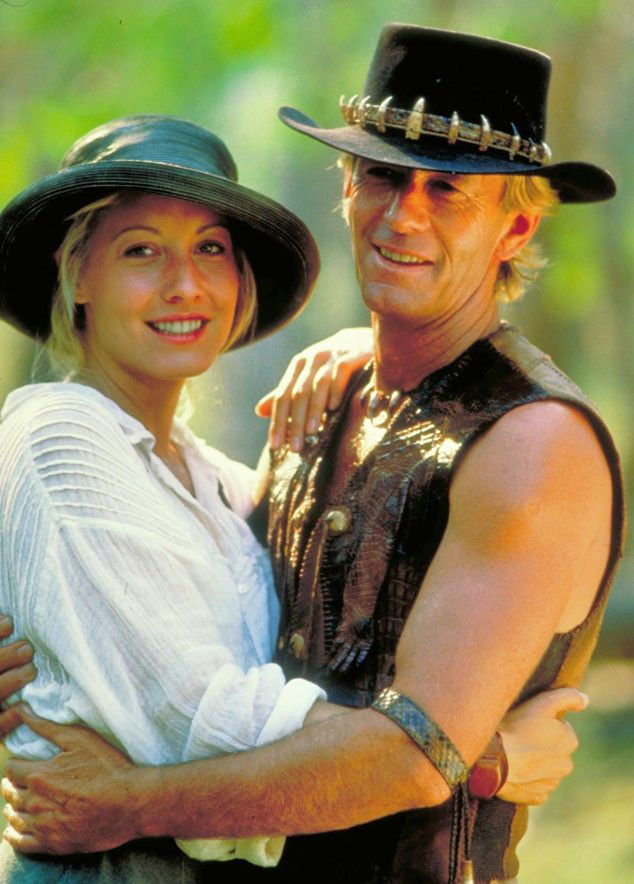 Crocodile Dundee movies starring Paul & Linda Hogan