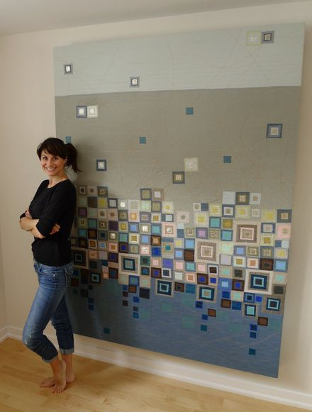 Sarah Symes - Abstract Textile Art