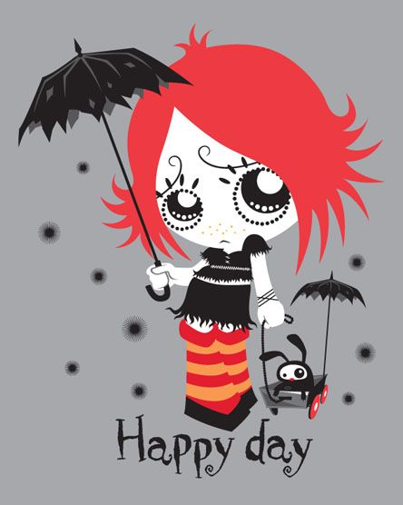 ruby gloom | ... ruby gloom dust bunnies tee 2003 ruby gloom welcome to gloomsville tee