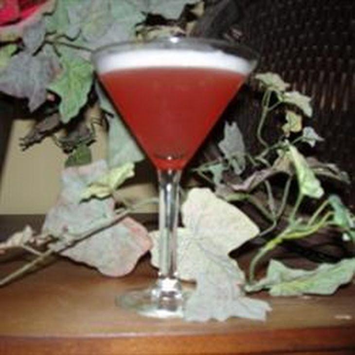 Italian Wedding Cake Martini Recipe Beverages, Cocktails with vanilla vodka, cranberry juice, pineapple juice, amaretto, white creme de cacao