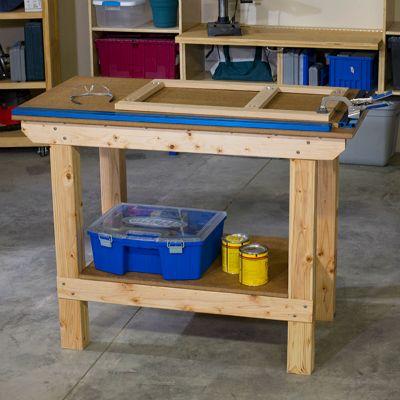 Mesa De Trabajo De 2x4 Work Bench Kreg Tools Tool