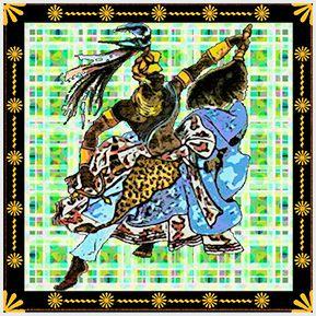 Oxossi - Quadrinhos confeccionados em Azulejo no tamanho 15x15 cm.Tem um ganchinho no verso para fixar na parede. Inspirados em deuses do Candomblé e Umbanda. Para entrar em contato conosco, acesse: www.babadocerto.com.br