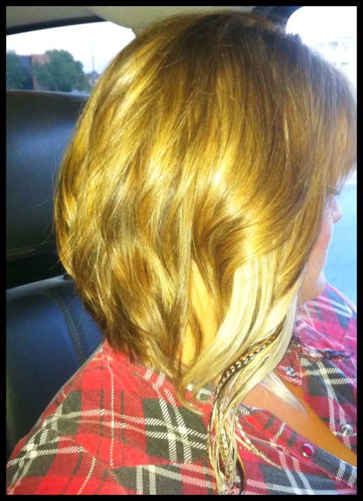 Medium length hair, a-line bob. | Short & Curly or Wavy ...