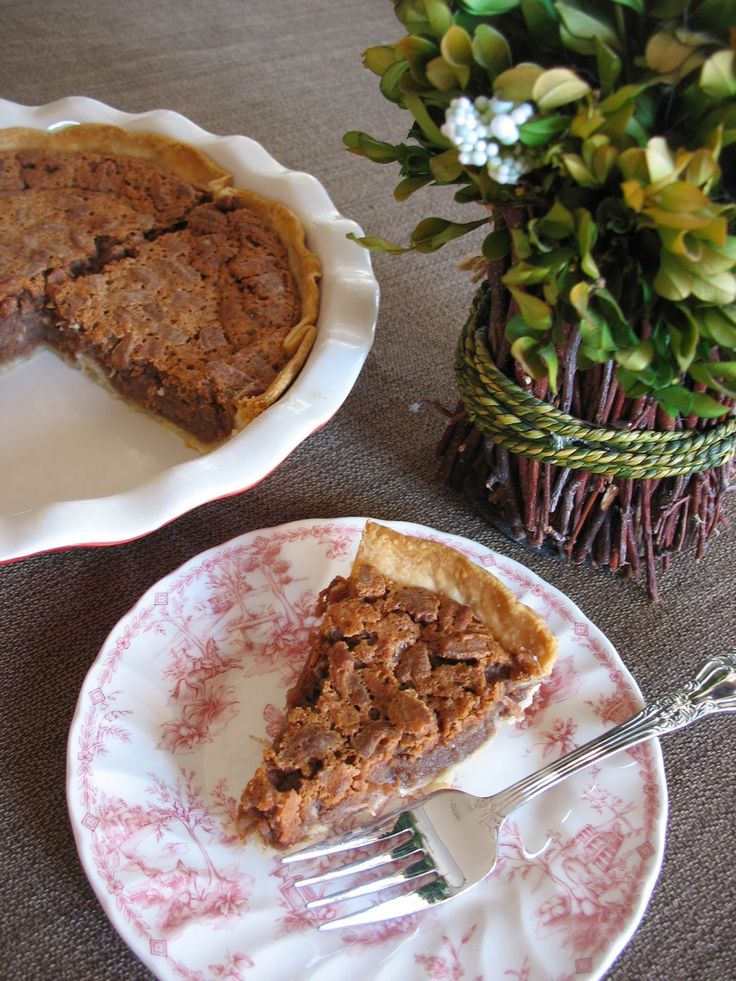 SWEET CHOCOLATE COCONUT PECAN PIE...ANOTHER MAINE HOUSE