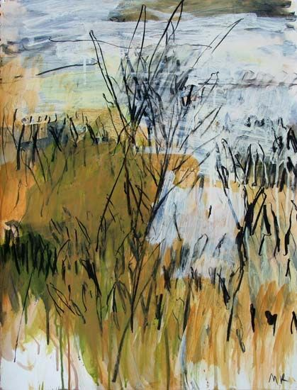 Featuring artwork by © Mitchell Kelly - Tasman Peninsula Field Study X | Anthea Polson Art Gallery Gold Coast QLD
