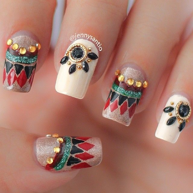 Instagram photo by jennysantio #nail #nails #nailart