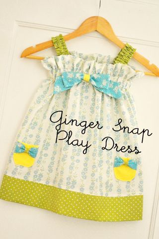 """going to resize this cute simple pattern toddler dress to fit  18"""" dolls"""