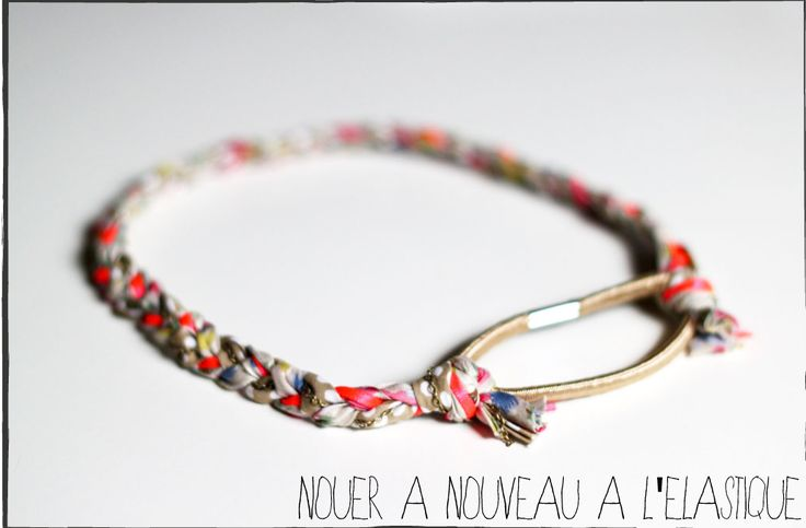 DIY: le headband tressé liberty