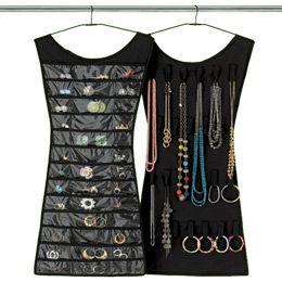 jewelry organizer that looks like a lbd: Idea, Jewelry Storage, Little Black Dresses, Closet, Hanging Jewelry Organizer, Jewelry Organization, Jewelry Holder