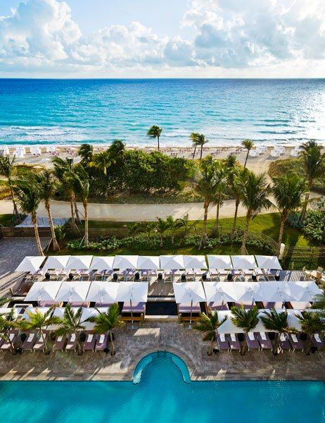 Where to shop, eat, and stay during Art Basel Miami Beach: St. Regis Bal Harbour #baselshows