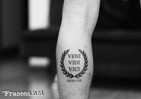 Thigh Tattoo Men, Small Forearm Tattoos, Calf Tattoo, Leg Tattoos, Tattoo Roma, Latin Tattoo, Neck Tattoo For Guys, Small Tattoos For Guys, Marathon Tattoo