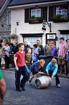 Beer Regatta barrel rolling