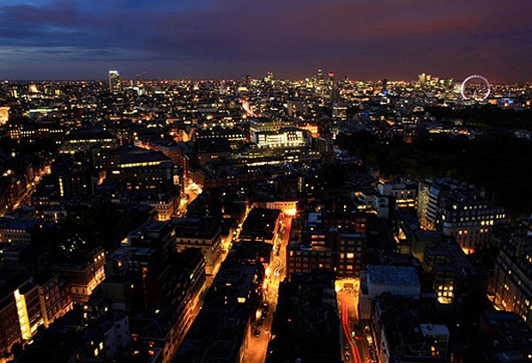 Views from Galvin at Windows - (top of Hilton Hotel)