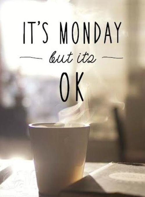 Le #lundi c'est plus facile avec un café !  <3 Bonne semaine à tous !