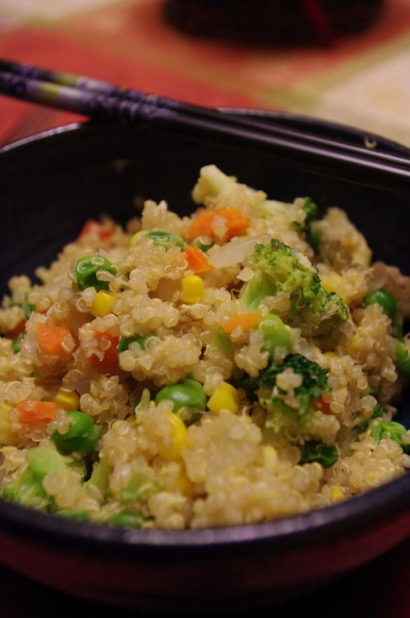 Quinoa Fried Rice | Recipes | Pinterest