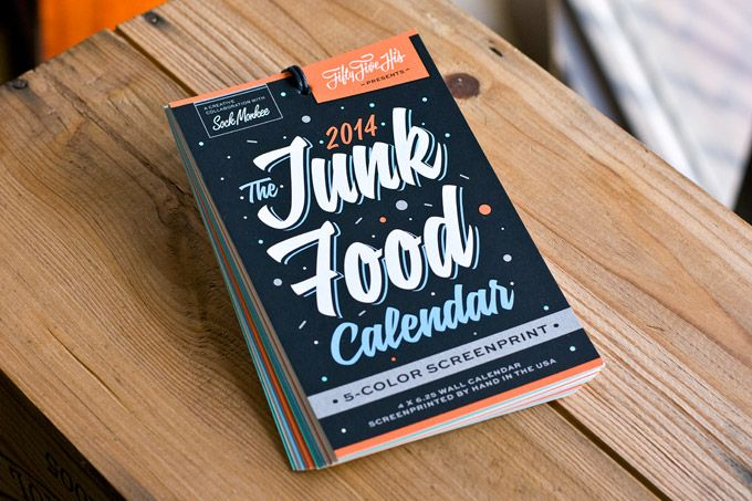 Making Of The Junk Food Calendar – 55 Hi's