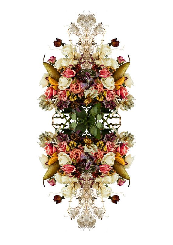 Rococo flowers by Mariapuu on Etsy