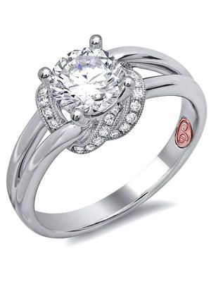 Demarco knot engagement ring