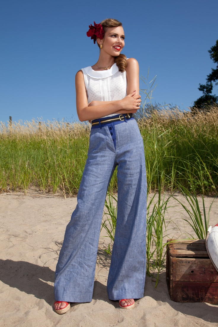 Peggy Sue (top)    - Love boat (pantalon/pants)