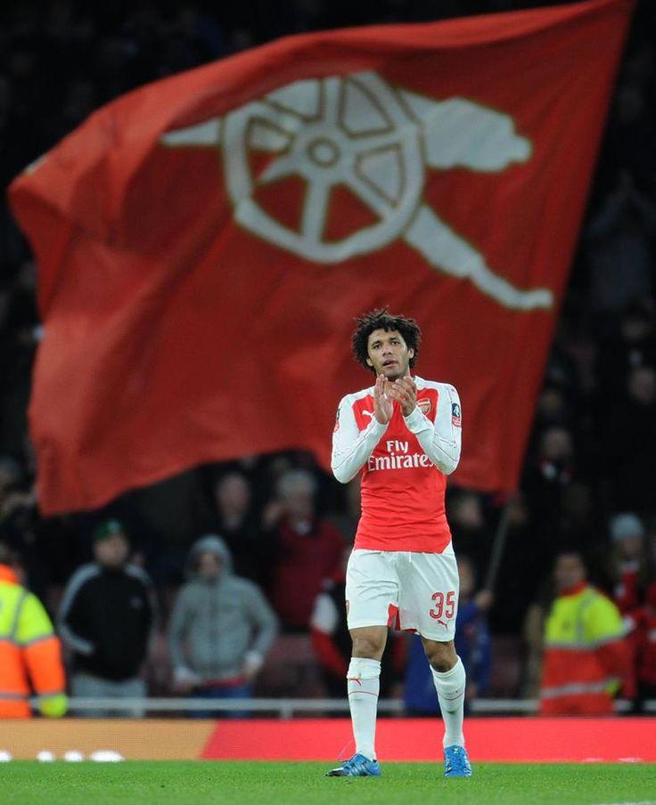 The debut of Mohamed Elneny for Arsenal. Arsenal 2-1 Burnley (January 2016)