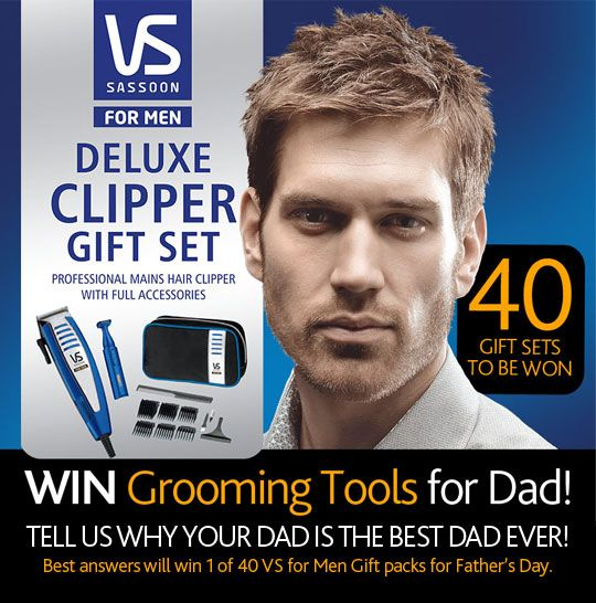 What are you getting your Dad this Father's Day? Why not WIN him a Deluxe Clipper Set! We have 40 to give away....  Enter here: http://a.pgtb.me/MKQt6T