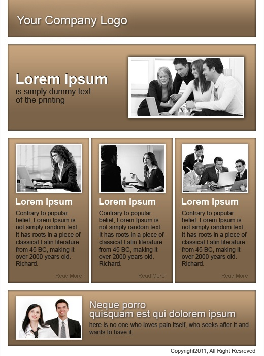 Business services template which will be imported in template management of www.socialboost.nl