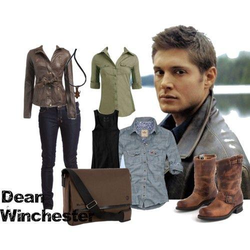 Dean Winchester of Supernatural.