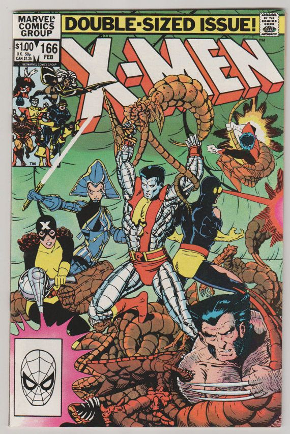Uncanny X-Men V1 166. NM. February 1983. by RubbersuitStudios #xmen #comicbooks #lockheed