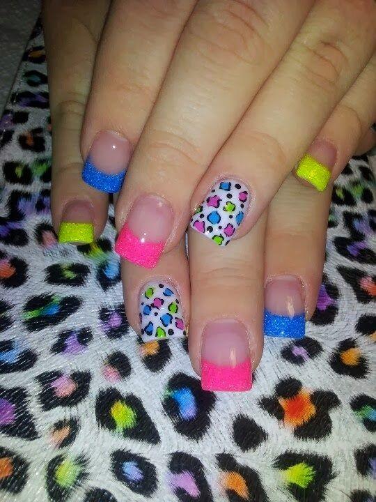 neon+glitz+and+leopard+neon+feat+nails+bright+Classic+French+pink+&+white+LED-polish-manicure-OPI-Nail-Polish-Lacquer-Pedicure-care-natural-healthcare-Gel-Nail-Polish-beauty-Acrylic-Nails-Nail-Art-USA-UK.jpg (540×720)
