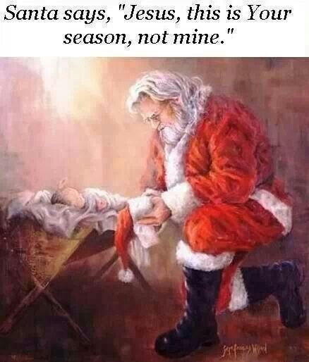 17 Best images about Kneeling Santa and Baby Jesus on Pinterest ...