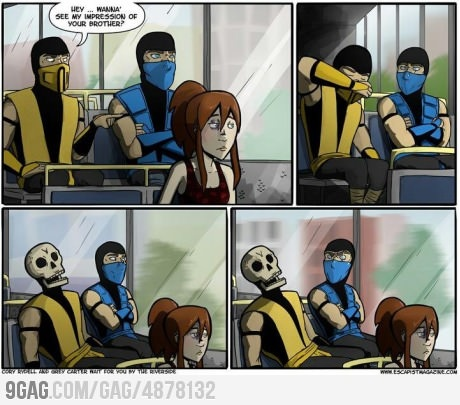 Mortal Kombat can be funny