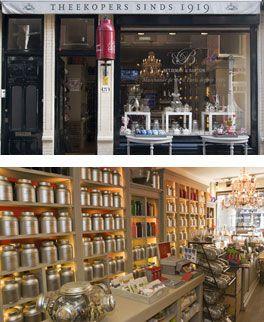Betjeman & Barton, Denneweg. Best tea shop in town