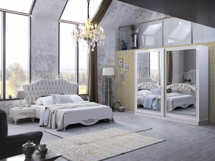 Sönmez Home   Modern Yatak Odası Takımları   Gloria Yatak Odası