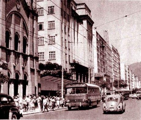 Avenida Visconde de Pirajá - década de 60