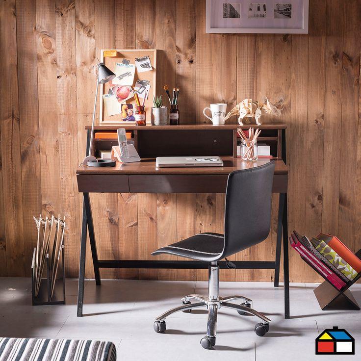 Muebles escritorio silla estudio oficiona living for Escritorio para pc