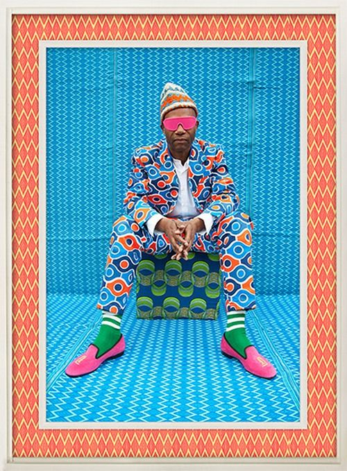 rockstars by hassan hajjaj   http://www.africafashionguide.com/2012/11/my-rockstars-is-an-exhibition-by-london-based-artist-hassan-hajjaj/
