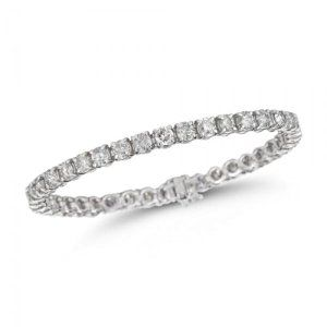 Classic 3cts Diamond Tennis Bracelet in 14K White Gold  http://electmejewellery.com/jewelry/bracelets/classic-3cts-diamond-tennis-bracelet-in-14k-white-gold-com/