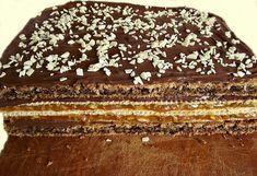 Если вы неравнодушны к десертам с арахисом, то эти пирожные с шоколадным и карамельным кремом и орешками вас покорят!