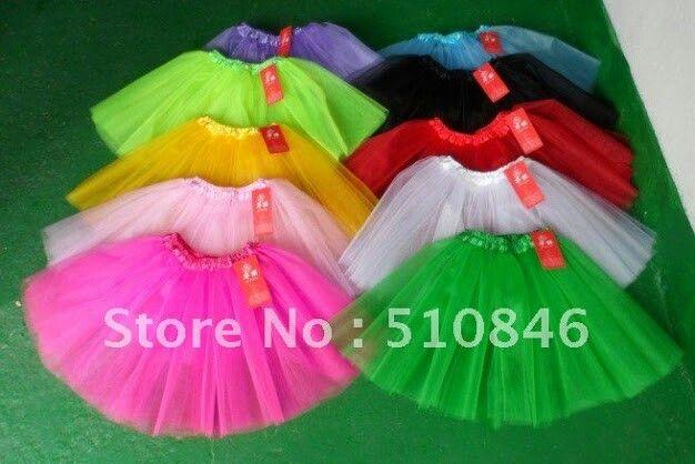 Multi coloured skirts