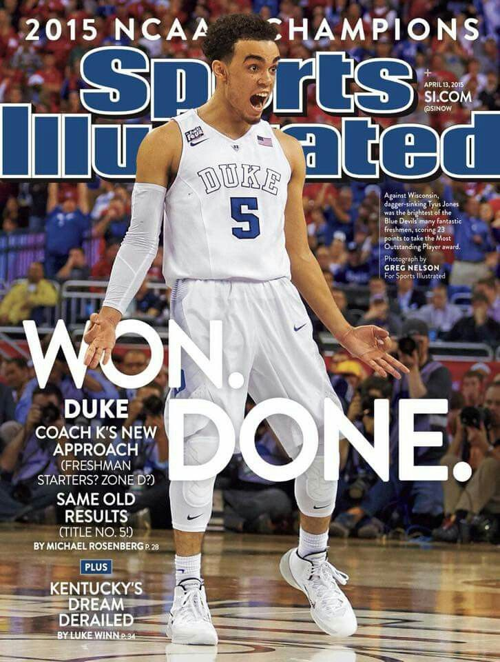 I've read the article in this and it is great! This was probably my most favorite facial expression of the Championship game!