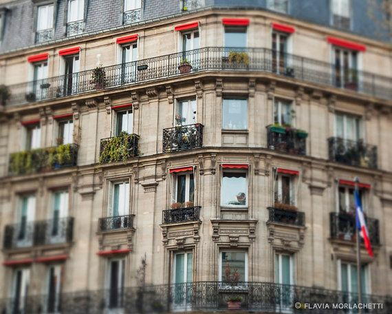 French balconies Paris photography France by FlaviaMorlachetti