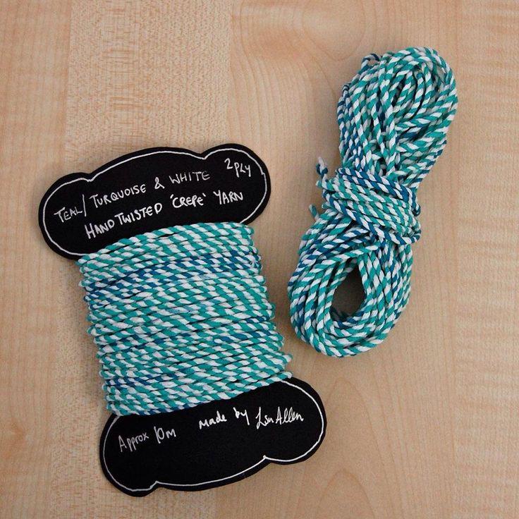 Homemade yarn - Louise S.A Allen
