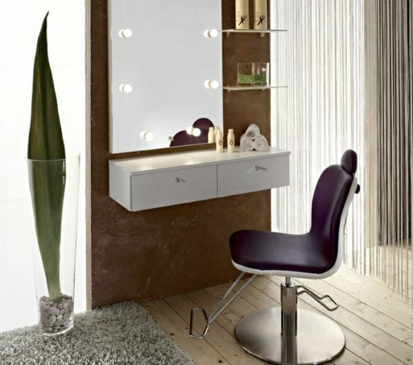 1000 id es sur le th me coiffeuse avec miroir sur. Black Bedroom Furniture Sets. Home Design Ideas